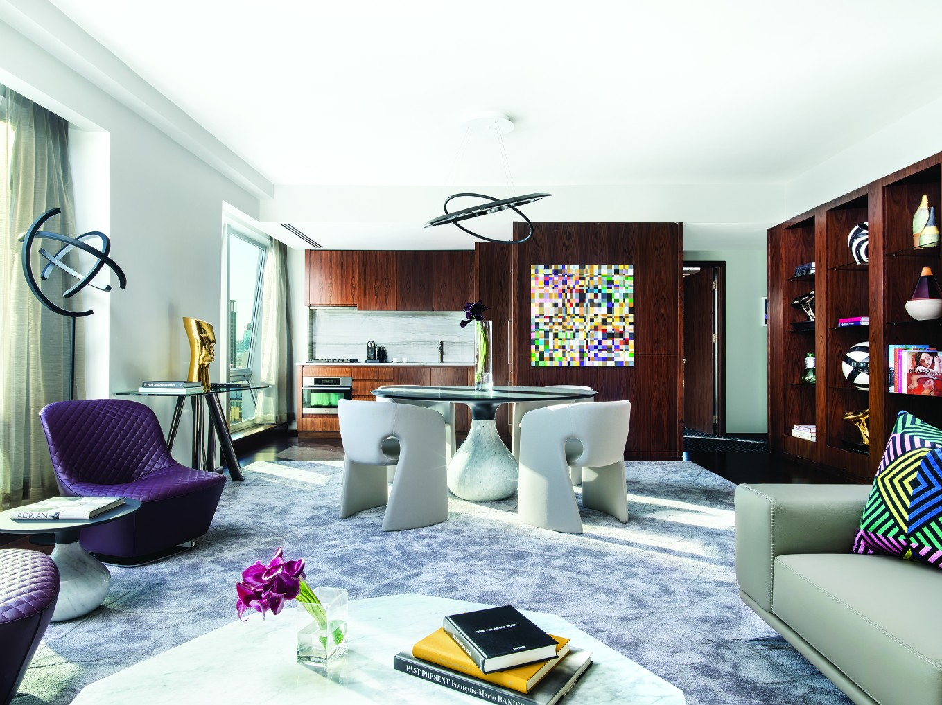 Presidential Suite by Roche Bobois, The Langham New York - Oman Magazine