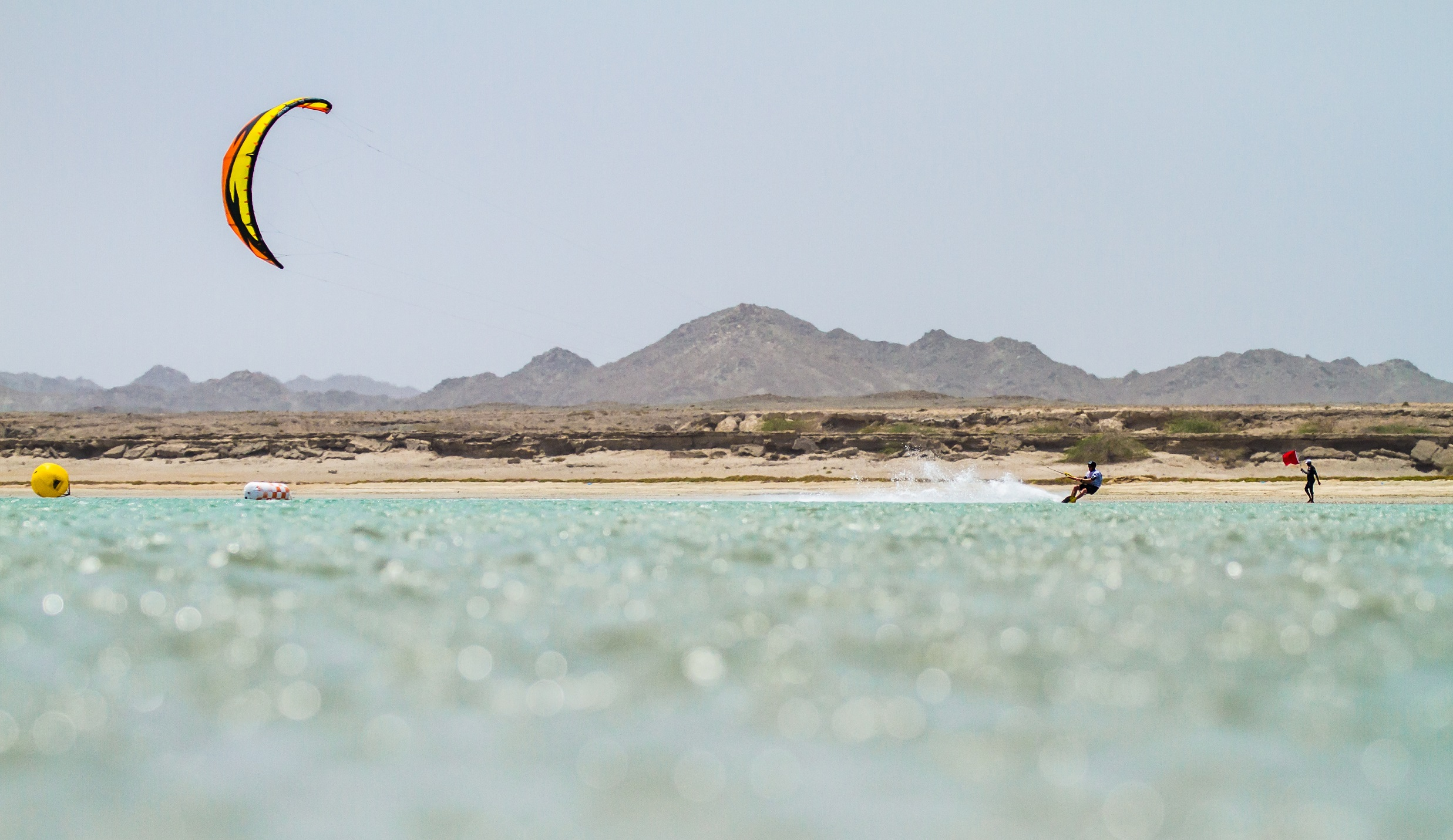 Kite championship in Masirah Island