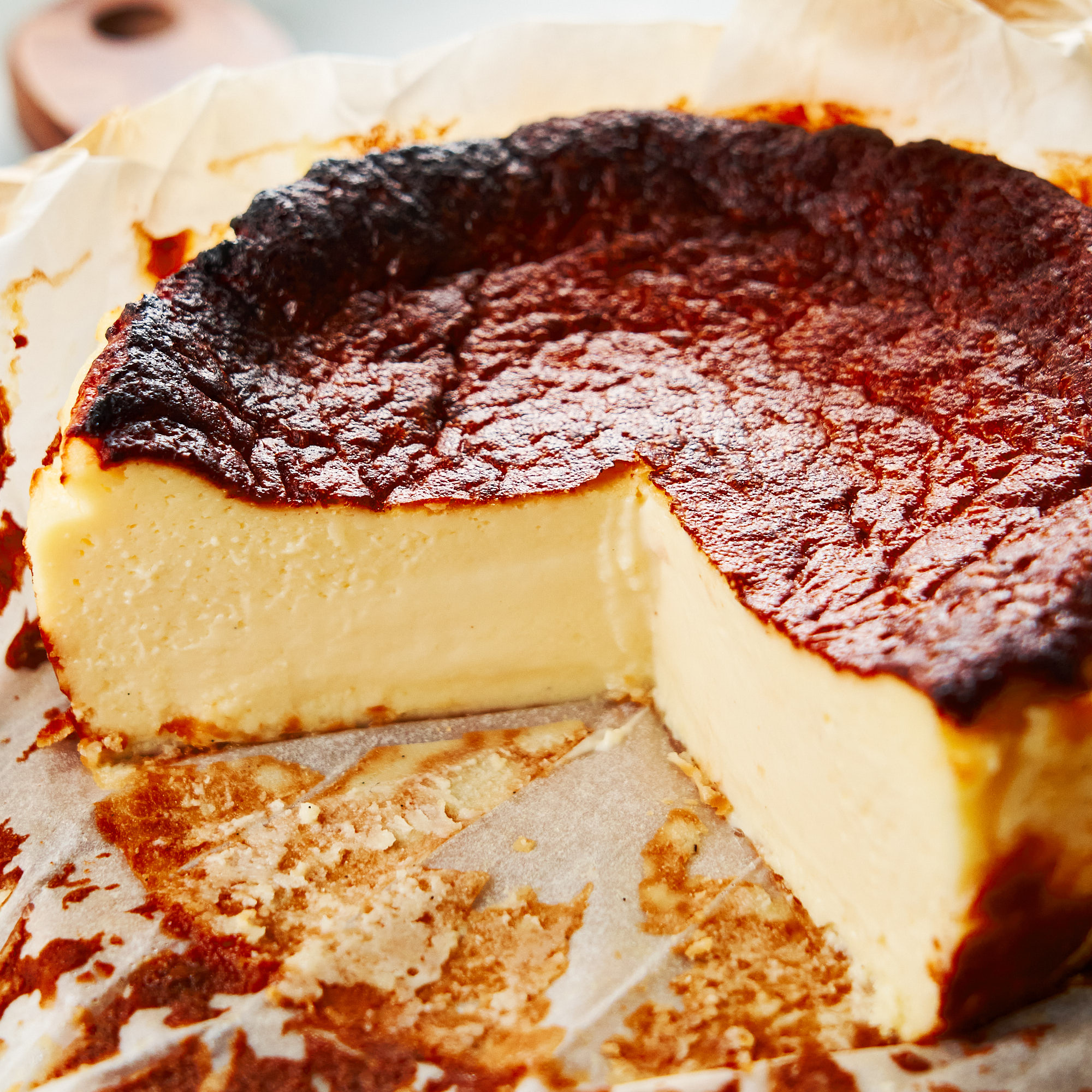Recipe Of The Month Burnt Basque Cheesecake Oman Magazine